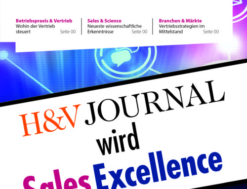 H&V Journal wird zu Sales Excellence